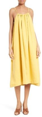 Women's Sea Linen Swing Dress $385 thestylecure.com