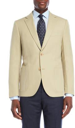Ibiza Tan Linen-Blend Sport Coat