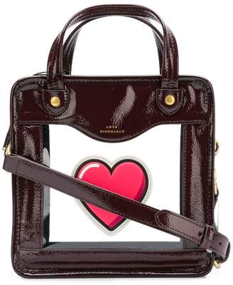 Anya Hindmarch Rainy Day heart crossbody