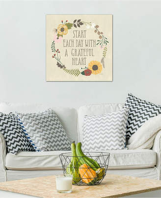 """iCanvas Autumn Garden Iv"""" by Laura Marshall Gallery-Wrapped Canvas Print (26 x 26 x 0.75)"""