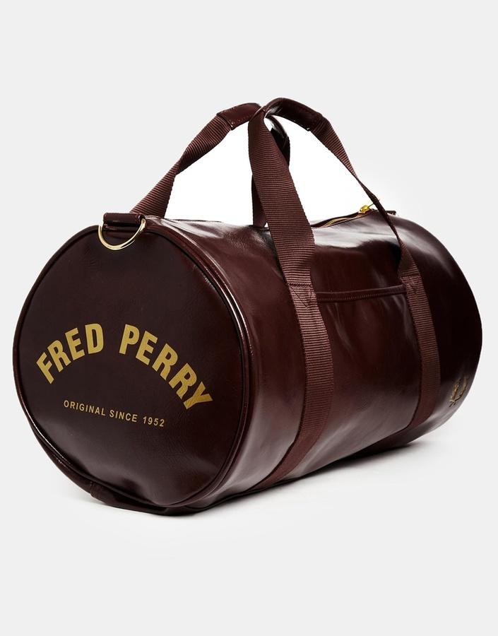 Fred Perry Classic Barrel Bag