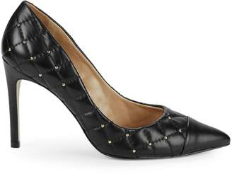 Ava & Aiden Quilted Leather Stiletto Pumps