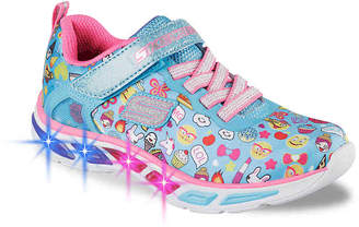 Skechers Litebeams Feelin' It Emoji Toddler Sneaker - Girl's