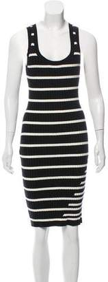 Alexander Wang Wool Bodycon Dress