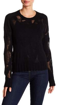 A.L.C. Lenox Burnout Pullover Sweater
