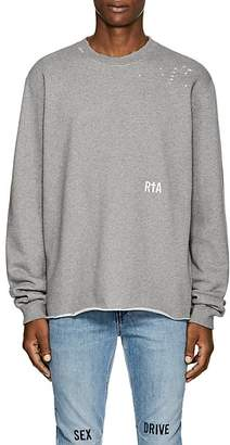 "RtA Men's ""Live Entertainment"" Cotton-Blend Fleece Sweatshirt"