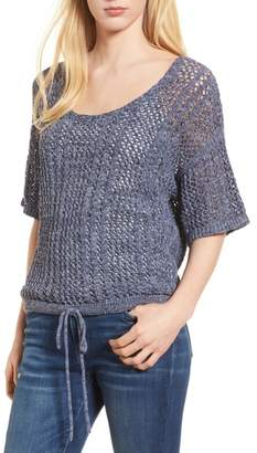 Splendid Knox Crochet Sweater