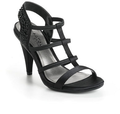 Kenneth Cole Reaction Know It Embellished Strappy Sandals