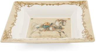 Gien Chevaux du Vent Large Square Candy Tray