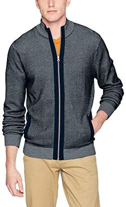 Robert Graham Men's Conboy Full Zip Sweater