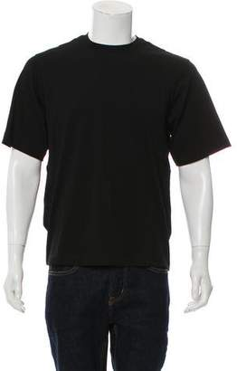 Helmut Lang Drape Tank Crew Neck T-Shirt w/ Tags