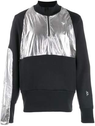 Oakley By Samuel Ross henley colour block sweatshirt