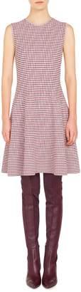 Akris Punto Houndstooth Knit Dress