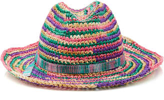 Missoni Mare Multicolored Braided Hat
