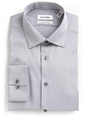 Calvin Klein Solid Cotton Shirt
