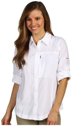 Columbia Silver Ridgetm L/S Shirt Women's Long Sleeve Button Up