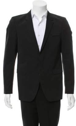 Calvin Klein Collection Notched Lapel Two-Button Blazer