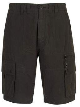 Burton Mens Black Cargo Shorts