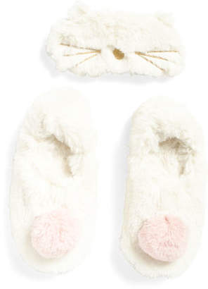 Packaged Teddy Slippers