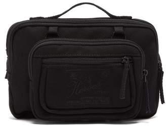 Raf Simons X Eastpak - Embroidered Canvas Belt Bag - Womens - Black