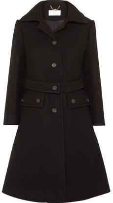 Chloé Wool-blend Coat - Black