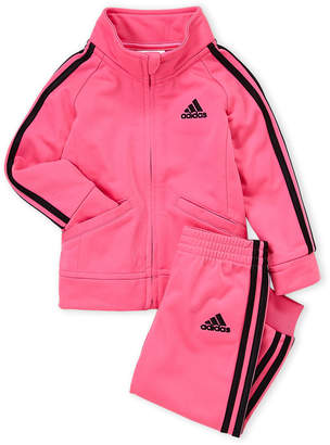 adidas Toddler Girls) Two-Piece Classic Tricot Track Suit Set