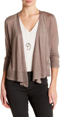 NIC+ZOE Four-Way Convertible 3/4 Sleeve Cardigan $98 thestylecure.com