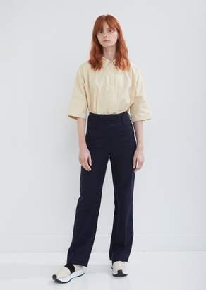 Nehera Pai Straight Leg Twill Trousers