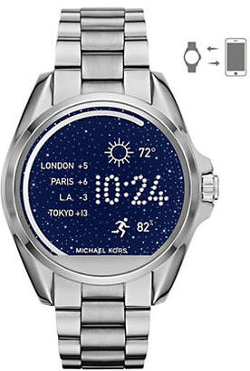 Michael Kors Access Bradshaw Silvertone Smartwatch