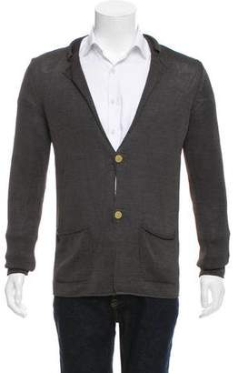 Lanvin Lightweight Button-Up Cardigan