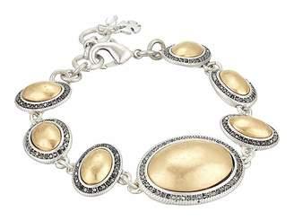 Lucky Brand Pave Gem Link Bracelet