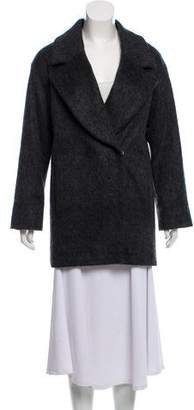 Hotel Particulier Double-Breasted Short Coat