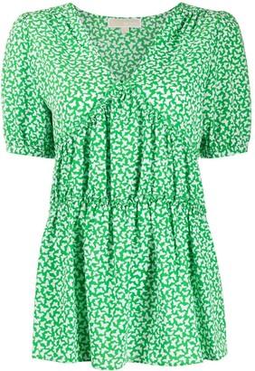 MICHAEL Michael Kors Butterfly print blouse