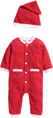 H&M Fleece Santa Costume - Red