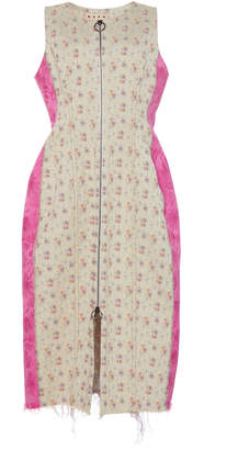 Marni Sleeveless Floral Waist Coat