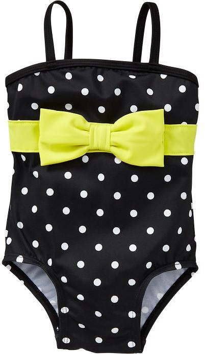 Old Navy Polka-Dot Bow-Tie Swimsuits for Baby