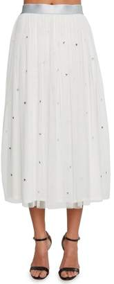 Willow & Clay Star Studded Mesh Skirt