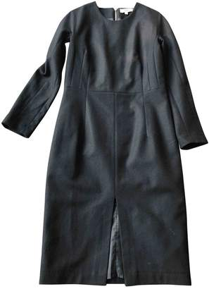 Rika Black Wool Dress for Women
