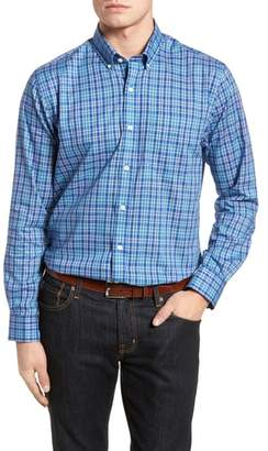 Cutter & Buck Charlie Classic Fit Easy Care Check Sport Shirt