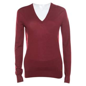 Gucci Red Cashmere Knitwear