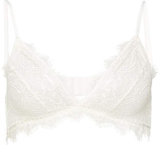 c91bafcf1c6ac Anine Bing Delicate Lace Bra - ShopStyle