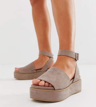 e0b05b69f26 Asos Beige Ankle Strap Sandals For Women - ShopStyle Australia