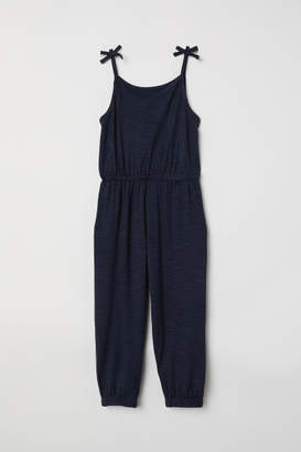 H&M Sleeveless Jumpsuit - Blue