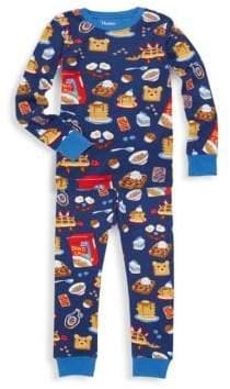 Hatley Little Boy's & Boy's Breakfast Time Two-Piece Pajama Set