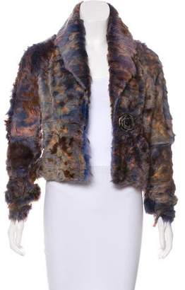 Yigal Azrouel Shearling Button-Up Jacket
