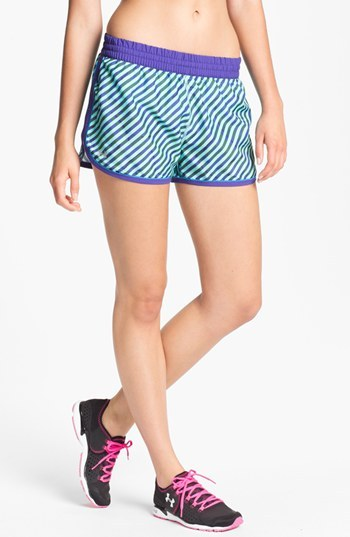 Under Armour 'Great Escape' Print Running Shorts