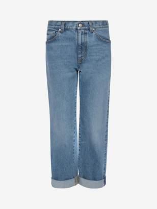 Alexander McQueen Boyfriend denim pants