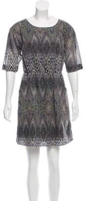 Gryphon Printed Mini Dress