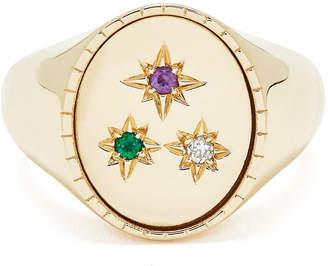 Bond Eye Bondeye Jewelry Ingrid Yellow-Gold Signet Ring
