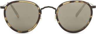 Oliver Peoples Ladies Brown Havana Print Vintage Ov1104S Oval-Frame Sunglasses